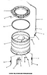 Diagram for 17 - Outer Tub, Cover & Pressure Hose