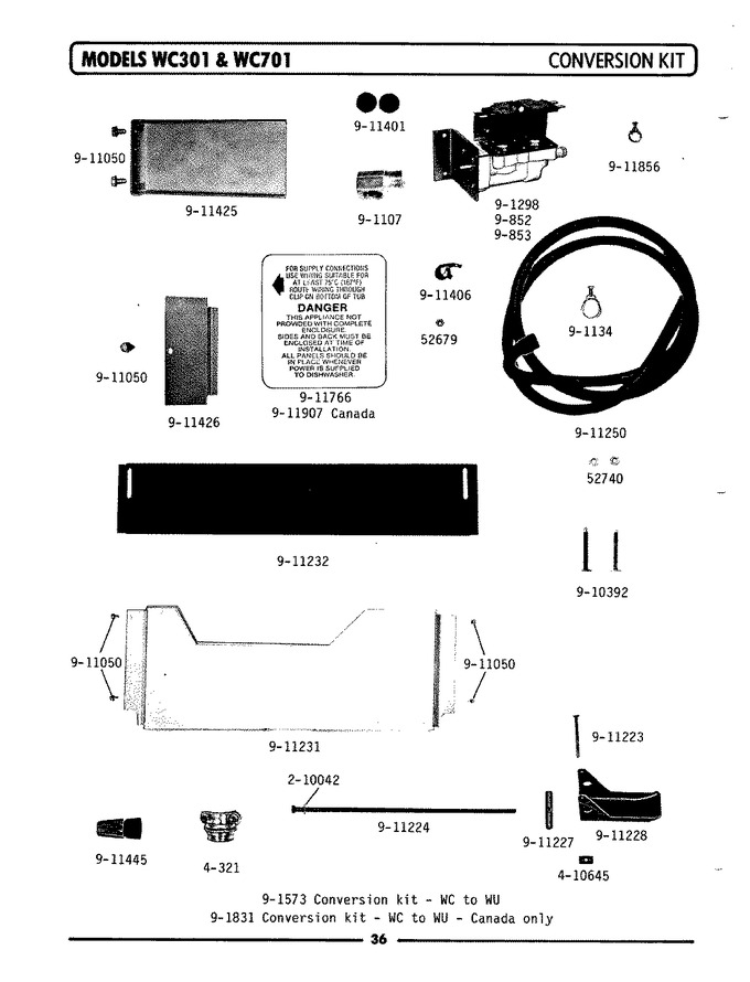 Diagram for WC701
