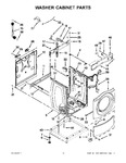 Diagram for 09 - Washer Cabinet Parts