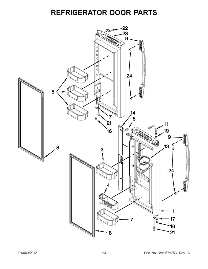 Diagram for MFI2670XEW8