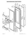 Diagram for 08 - Refrigerator Door Par