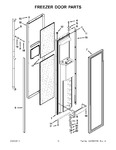 Diagram for 09 - Freezer Door Parts