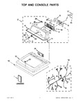 Diagram for 01 - Top And Console Parts
