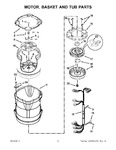 Diagram for 04 - Motor, Basket And Tub Parts