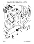 Diagram for 03 - Bulkhead And Blower Parts