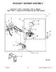 Diagram for 06 - W10293911 Burner Assembly
