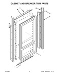 Diagram for 03 - Cabinet And Breaker Trim Parts