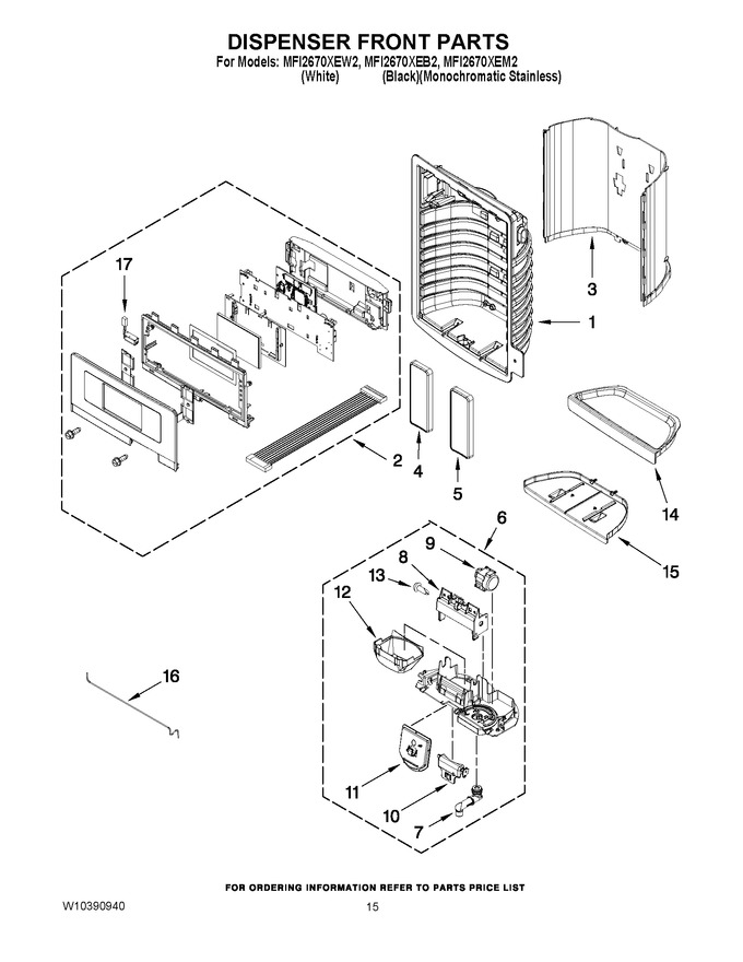 Diagram for MFI2670XEW2