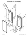 Diagram for 05 - Refrigerator Door Parts