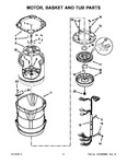 Diagram for 05 - Motor, Basket And Tub Parts