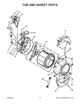 Diagram for 07 - Tub And Basket Parts