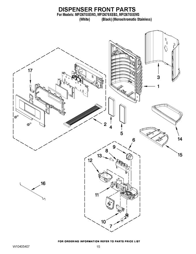 Diagram for MFI2670XEB3