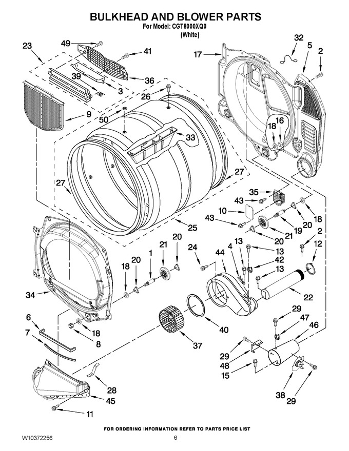 Diagram for CGT8000XQ0