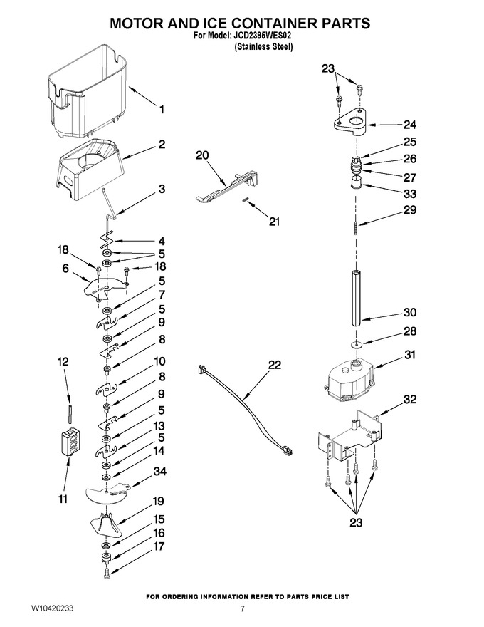 Diagram for JCD2395WES02