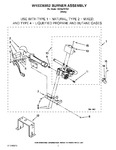 Diagram for 03 - W10336852 Burner Assembly