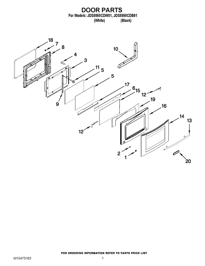Diagram for JDS8850CDW01