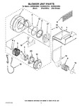 Diagram for 02 - Blower Unit Parts