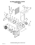 Diagram for 03 - Blower Assembly Parts