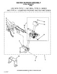 Diagram for 04 - 8557891 Burner Assembly