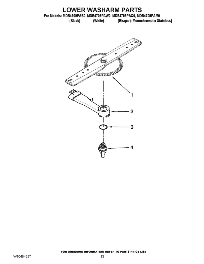 Diagram for MDB4709PAW0