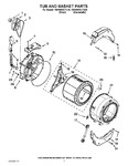 Diagram for 06 - Tub And Basket Parts