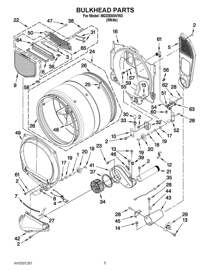 Diagram for MGDE500VW3