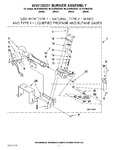Diagram for 06 - W10135231 Burner Assembly
