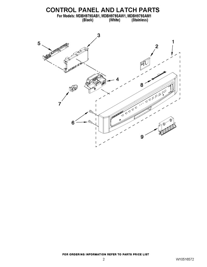 Diagram for MDBH979SAW1