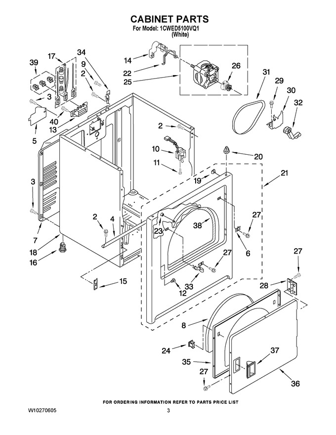 Diagram for 1CWED5100VQ1