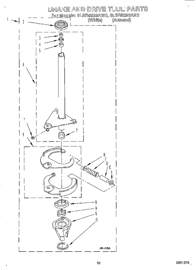 Diagram for 3LSR5233AW0