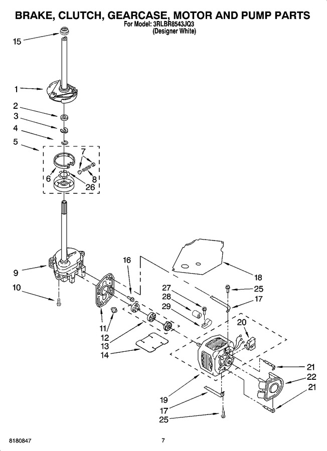 Diagram for 3RLBR8543JQ3