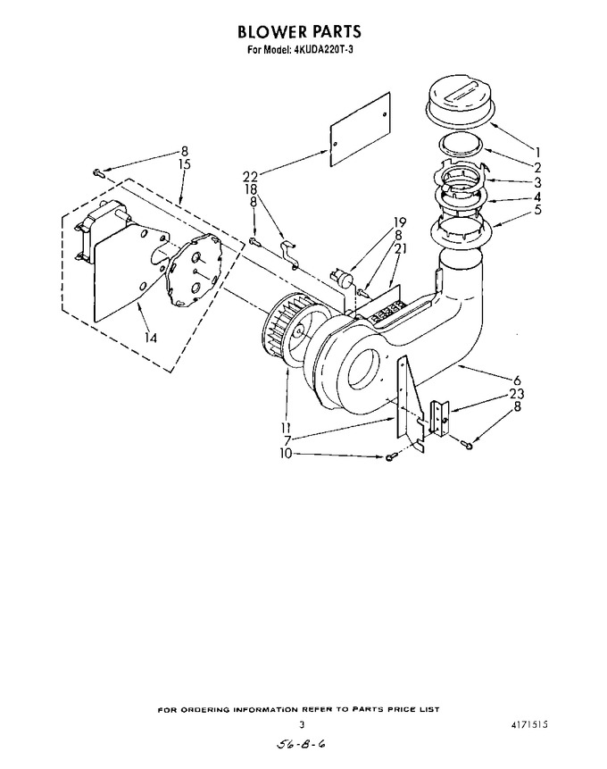 Diagram for 4KUDA220T3