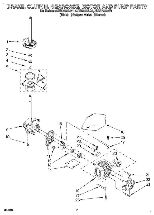 Diagram for 4LBR7255AN1