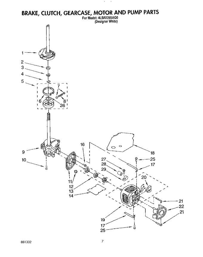 Diagram for 4LBR7255AQ0