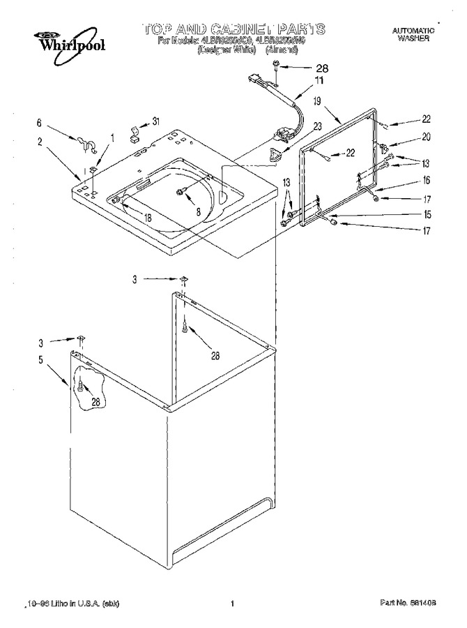 Diagram for 4LBR8255DQ0