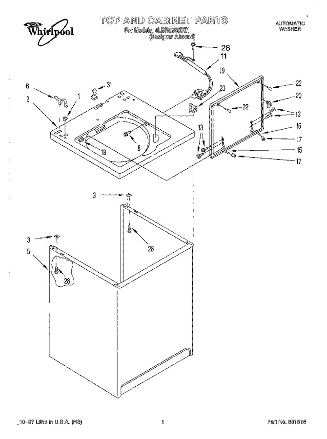 Diagram for 4LBR8255DZ1