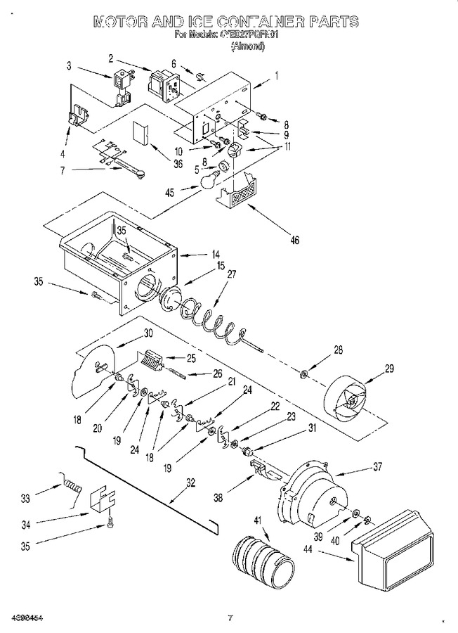 Diagram for 4YED27PQFN01