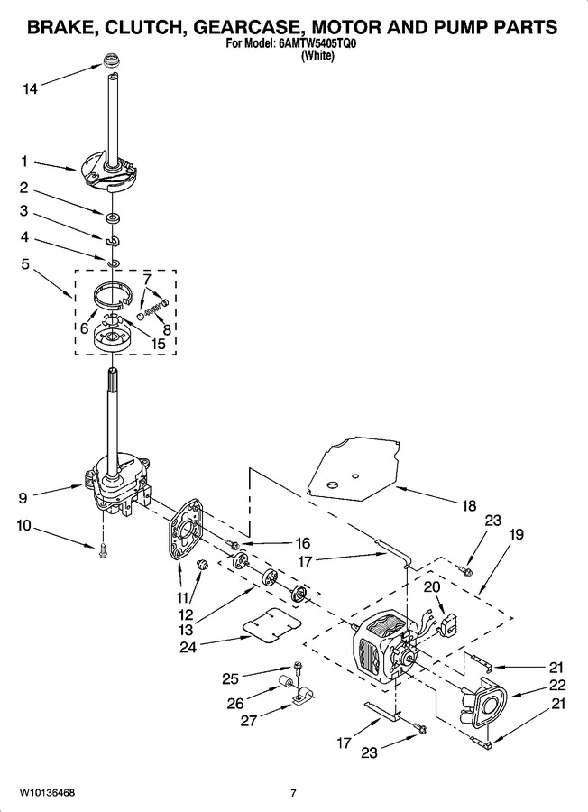 Diagram for 6AMTW5405TQ0
