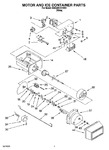 Diagram for 06 - Motor And Ice Container Parts