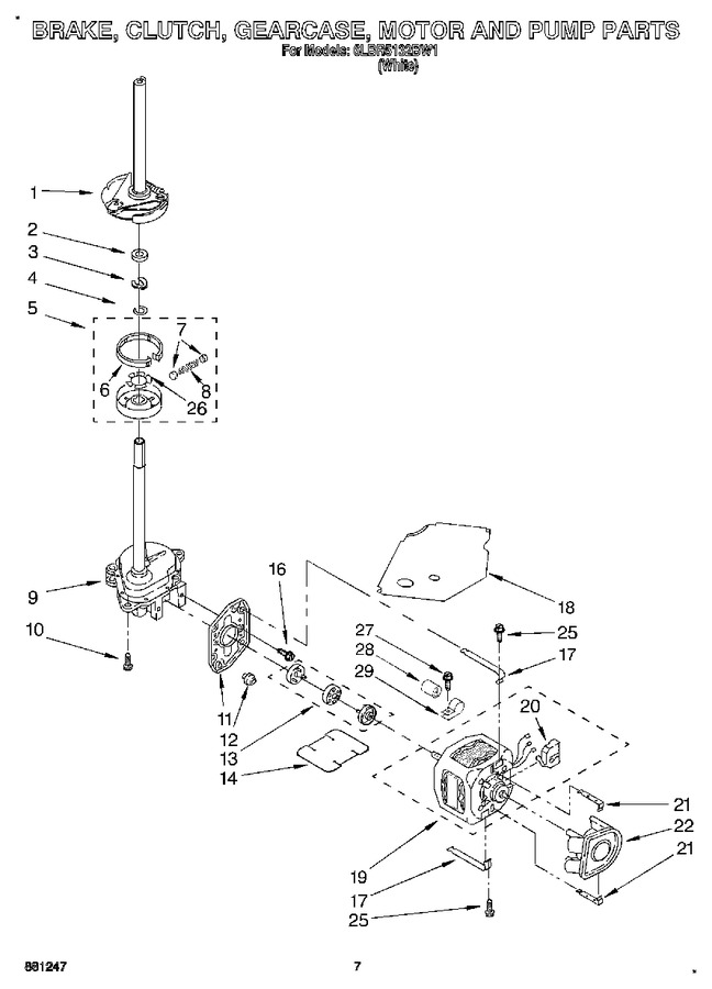 Diagram for 6LBR5132BW1