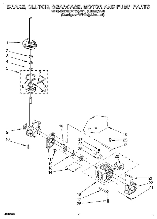 Diagram for 6LBR7255AN1