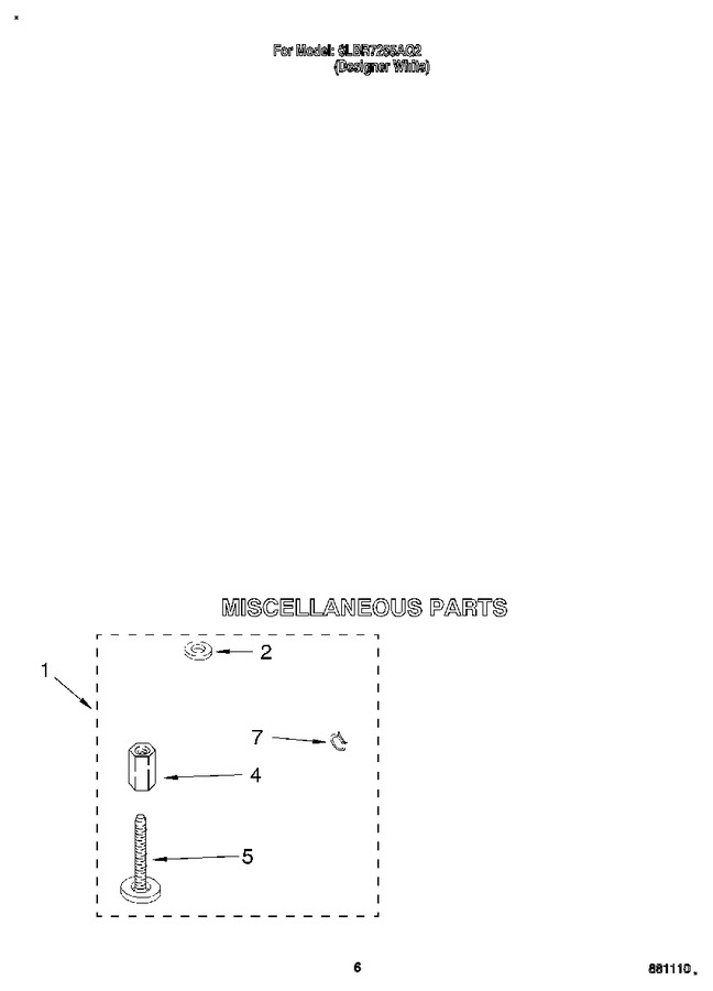 Diagram for 6LBR7255AQ2