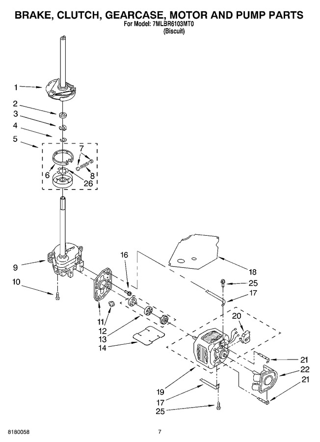 Diagram for 7MLBR6103MT0