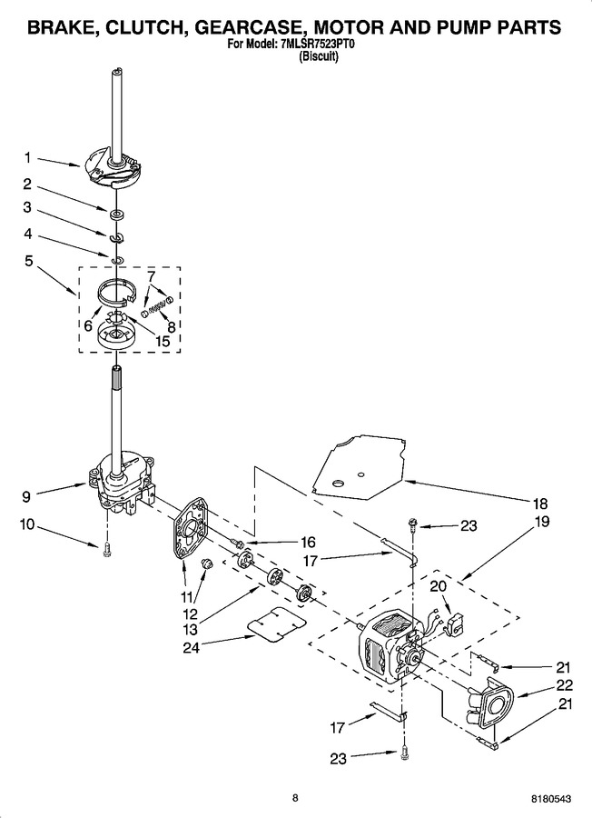 Diagram for 7MLSR7523PT0