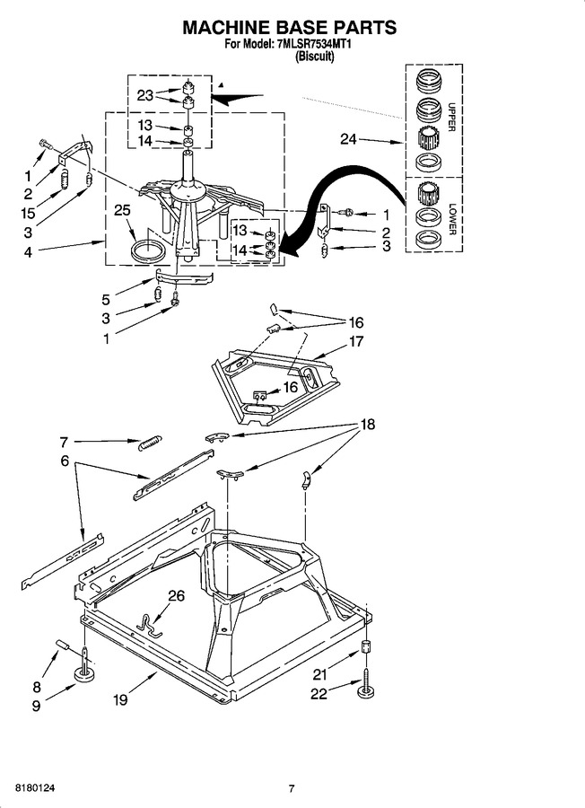 Diagram for 7MLSR7534MT1