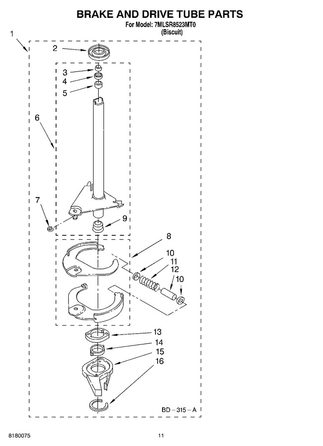 Diagram for 7MLSR8523MT0