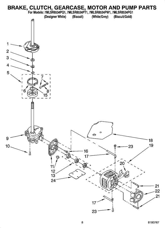 Diagram for 7MLSR8534PT1