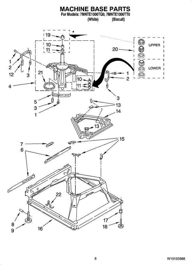 Diagram for 7MNTE1000TQ0