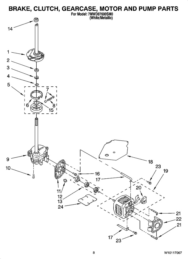 Diagram for 7MWD87600SM0