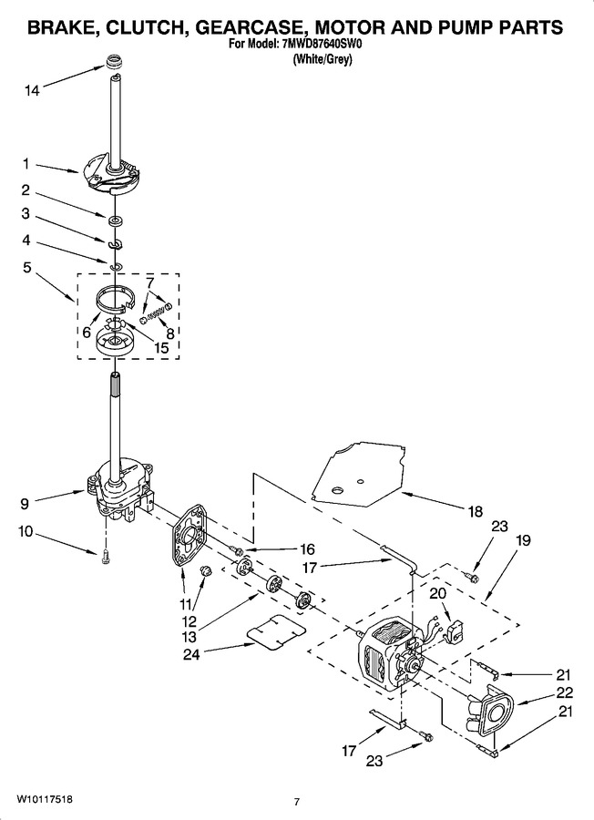 Diagram for 7MWD87640SW0